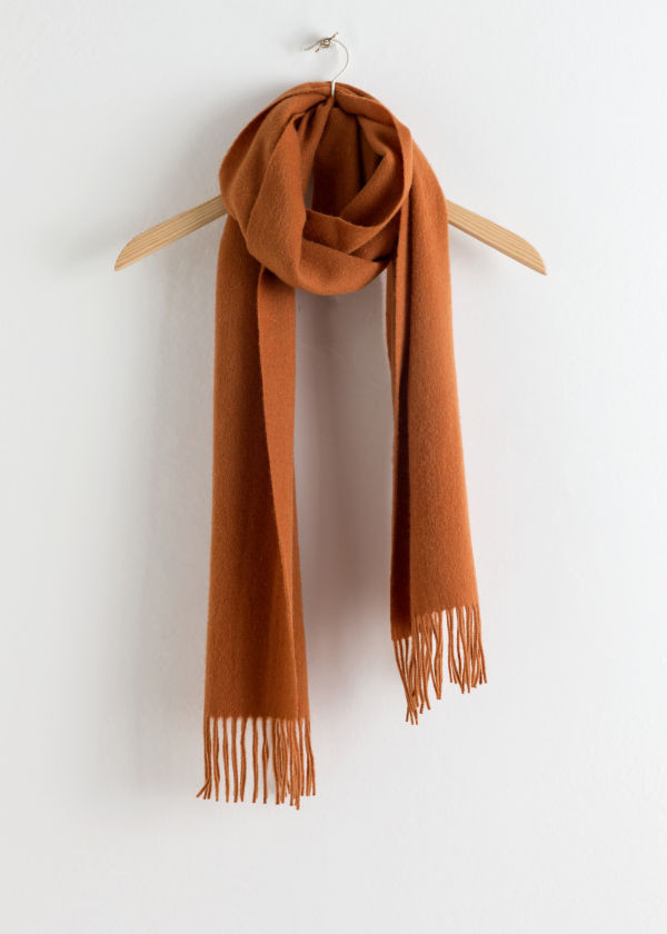 Slim Wool Scarf