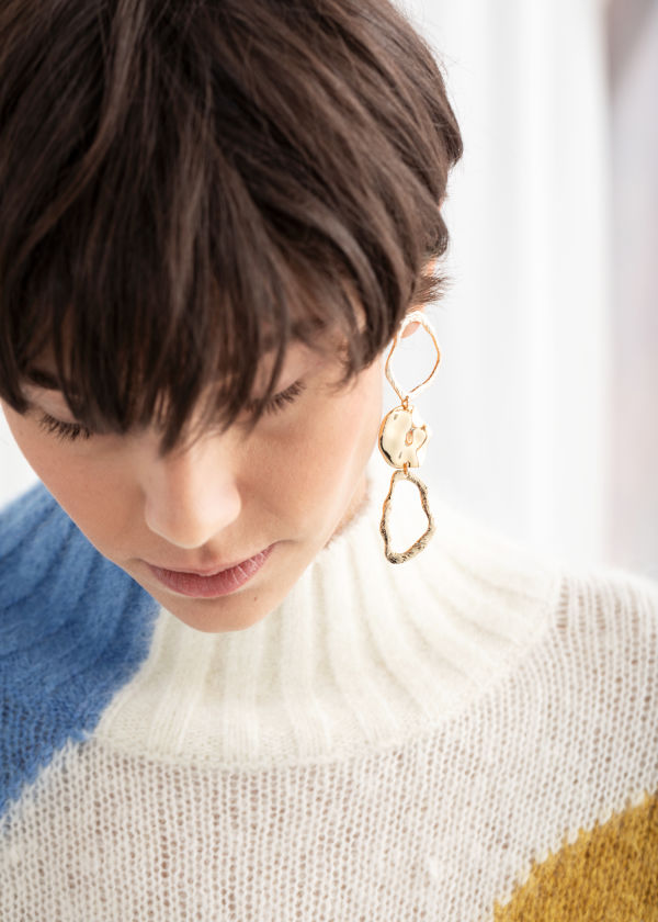 Sculptural Hanging Earrings