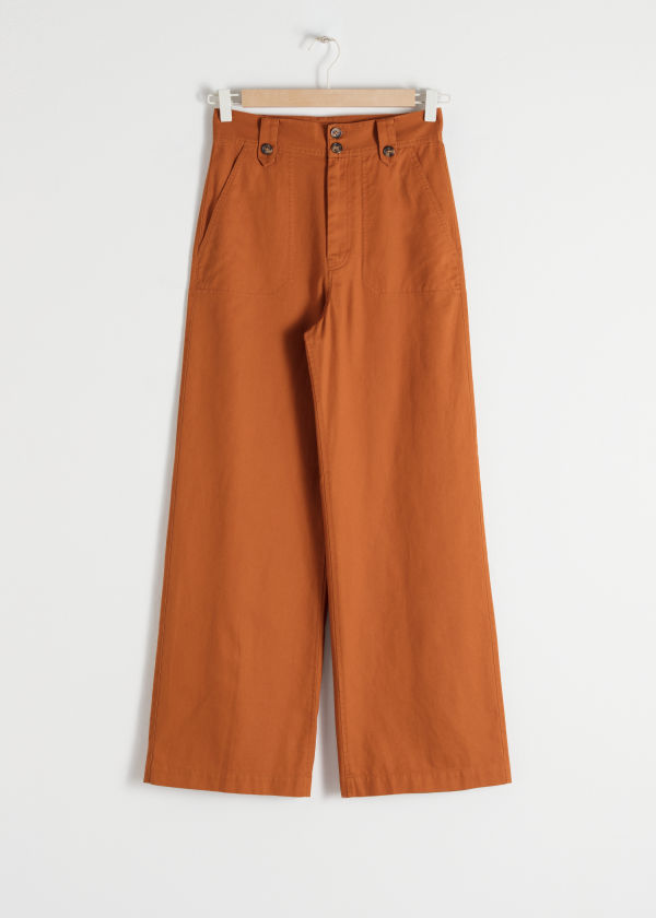 Cotton Twill Culottes