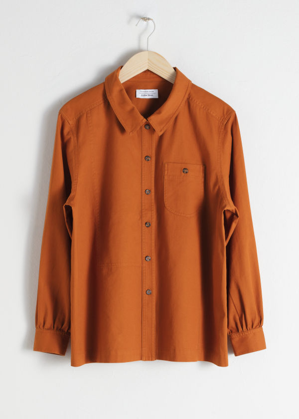 Cotton Twill Workwear Shirt