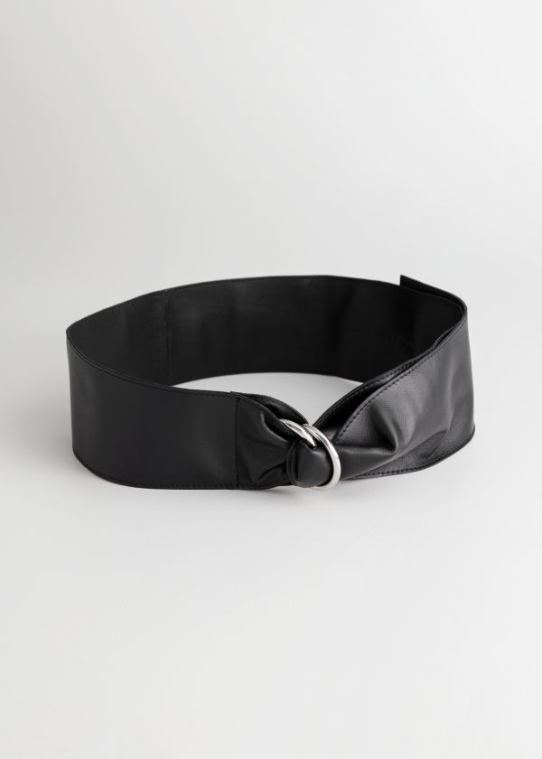 Duo D-Ring Leather Belt