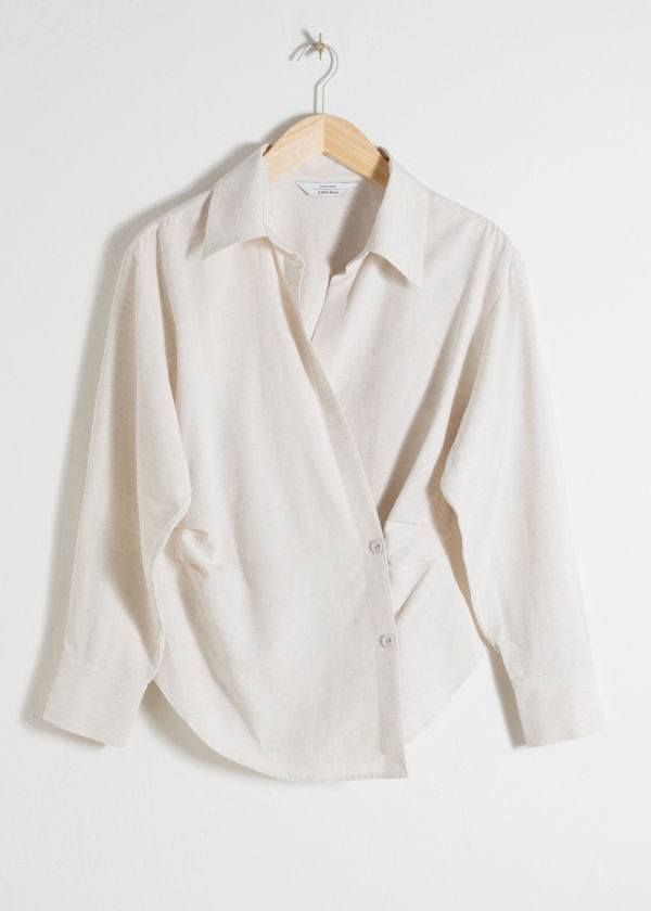 Wrap Button Shirt