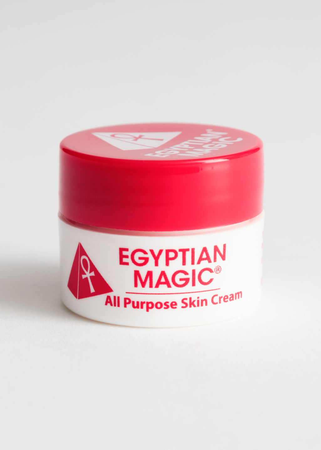 Front image of Stories egyptian magic mini skin cream in white