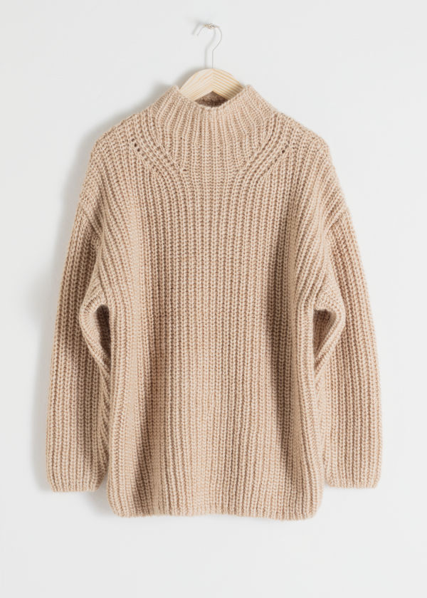Oversized Alpaca Blend Sweater