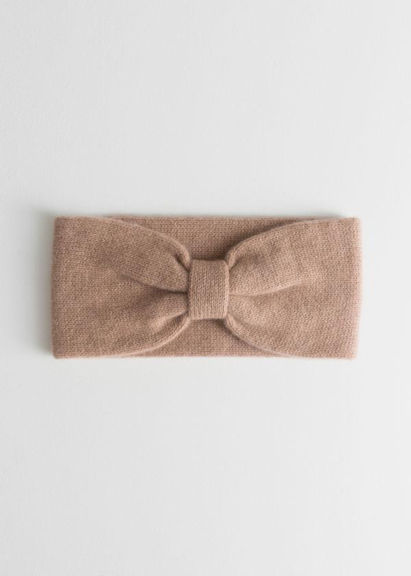 Knitted Cashmere Headband