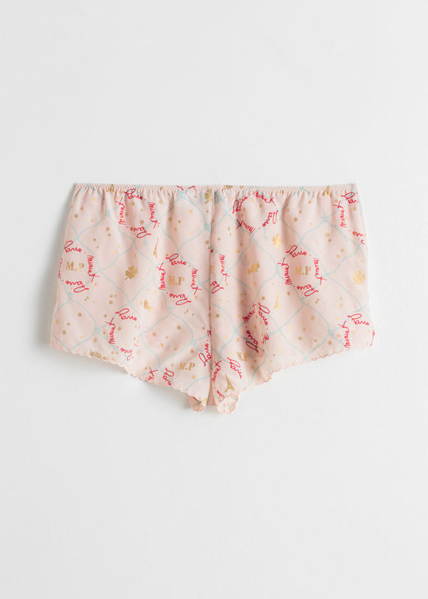 Silk Lounge Boyshorts
