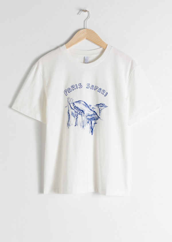 Paris Safari Tee