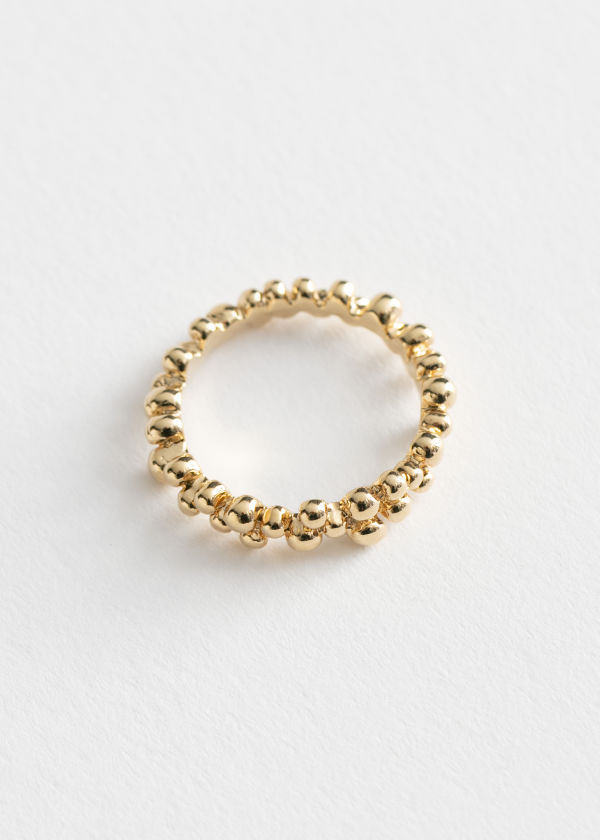 Delicate Dotted Ring