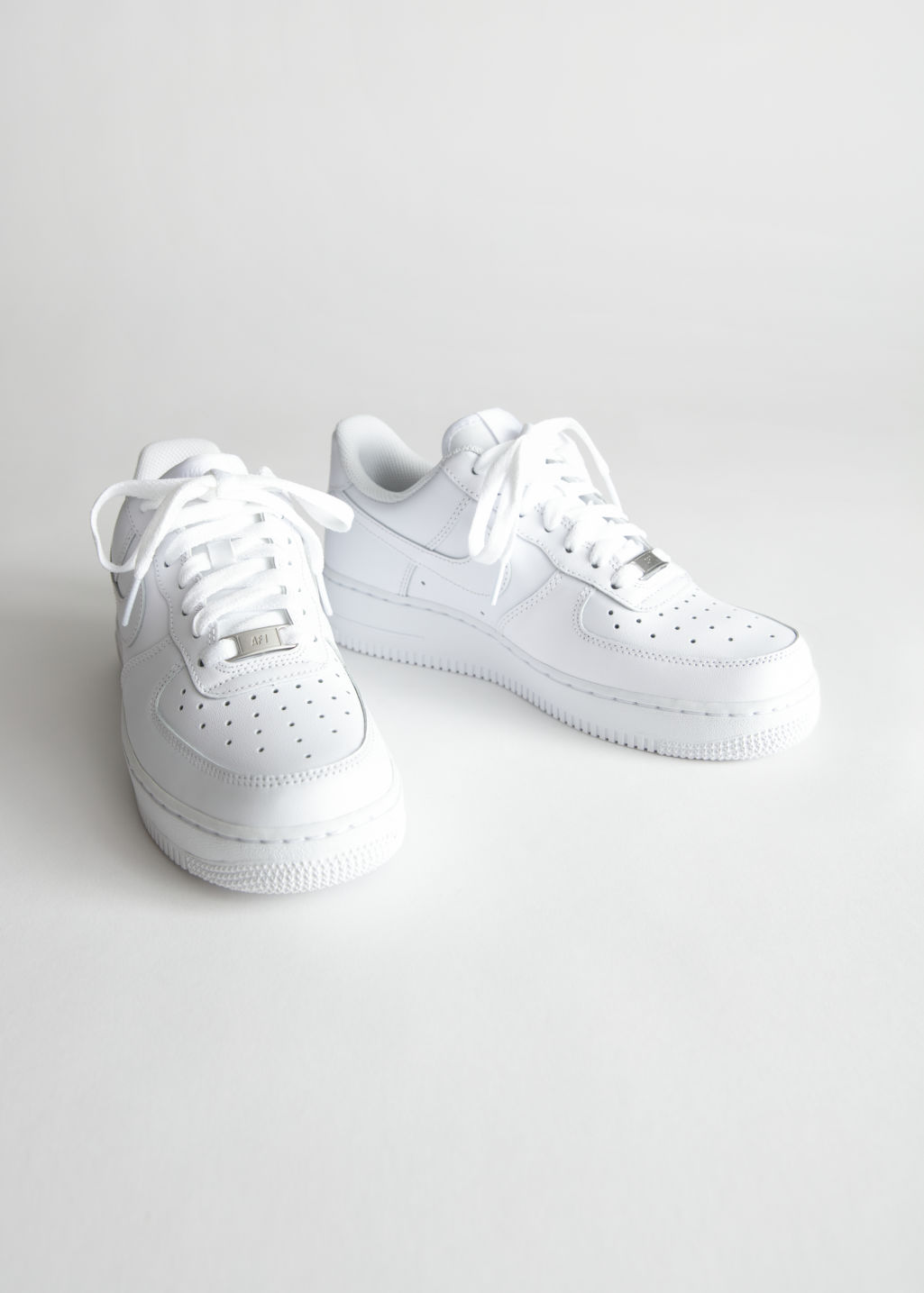 Back image of Stories nike air force 1 in white