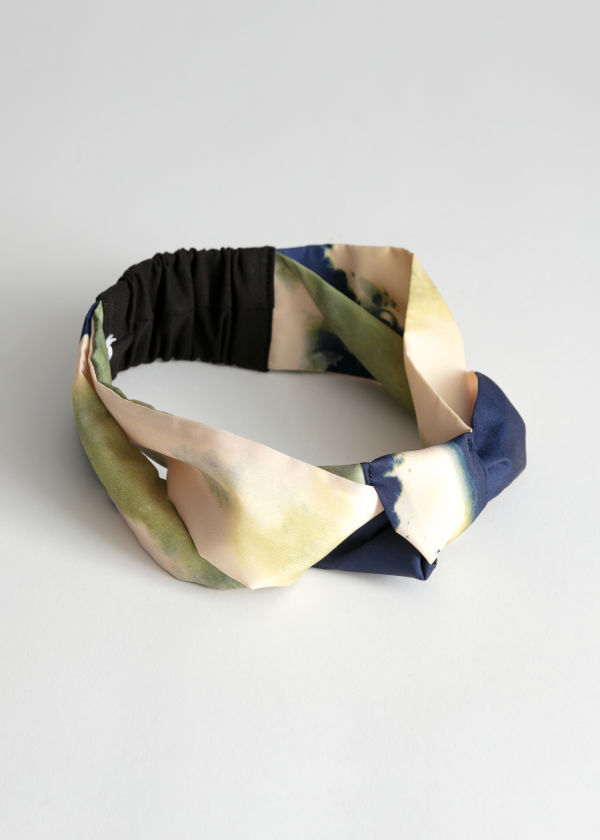 Watercolour Knotted Hairband