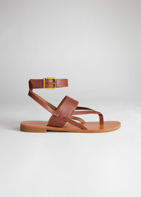 Criss Cross Strappy Sandals