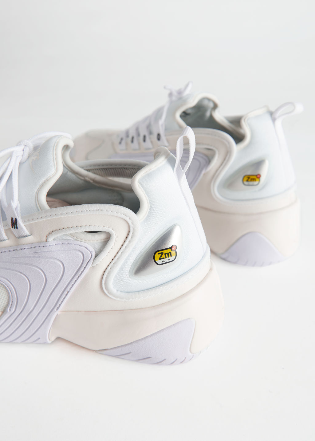Back image of Stories nike zoom 2k in white