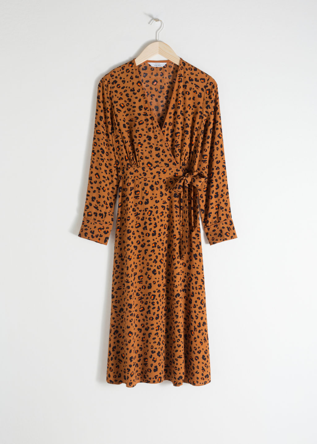 premier taux 5ec83 06b3b Leopard Print Wrap Dress - Leopard Print - Wrap dresses - & Other Stories
