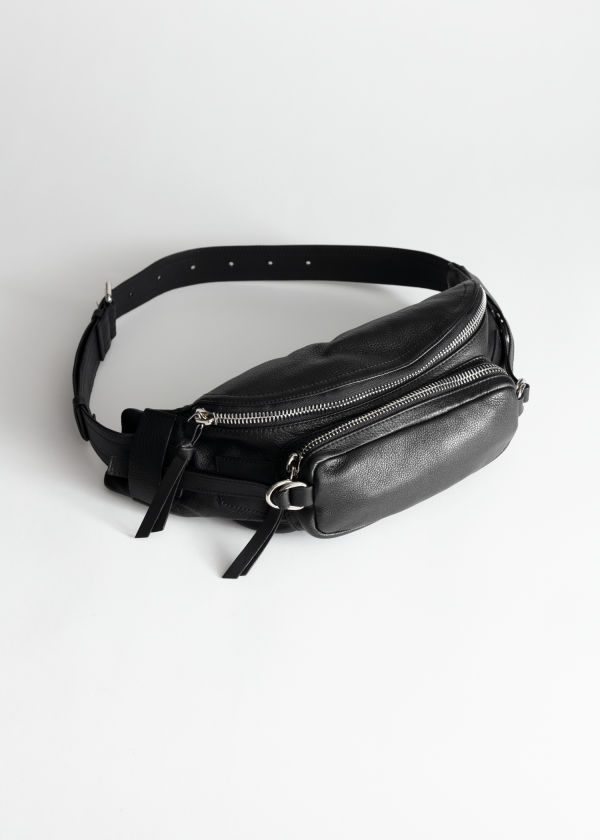 Grainy Leather Beltbag