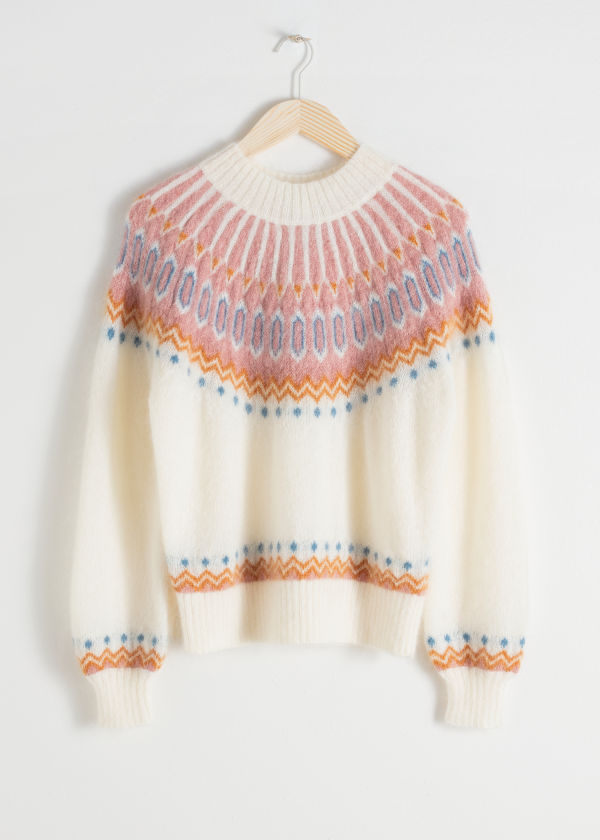 Fairisle Knit Sweater