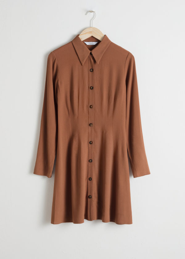 Fitted Shirt Dress