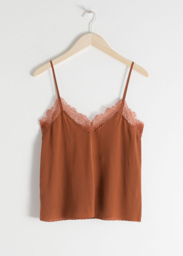 Silk Slip Top