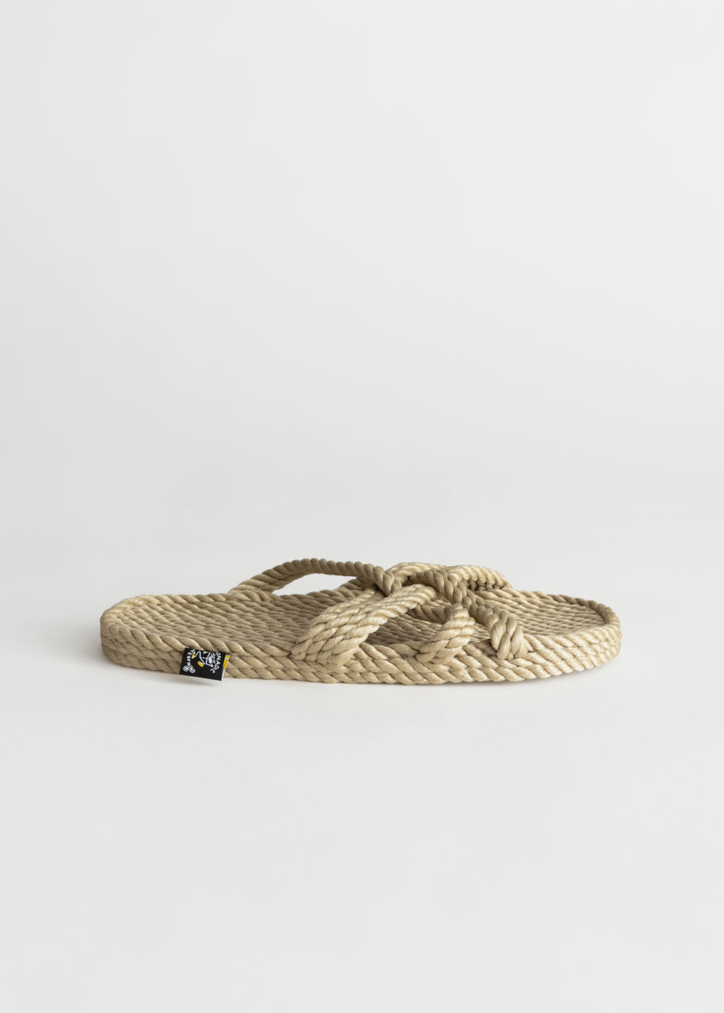 StillLife Front Image of Stories Nomadic State of Mind Sandals in Beige