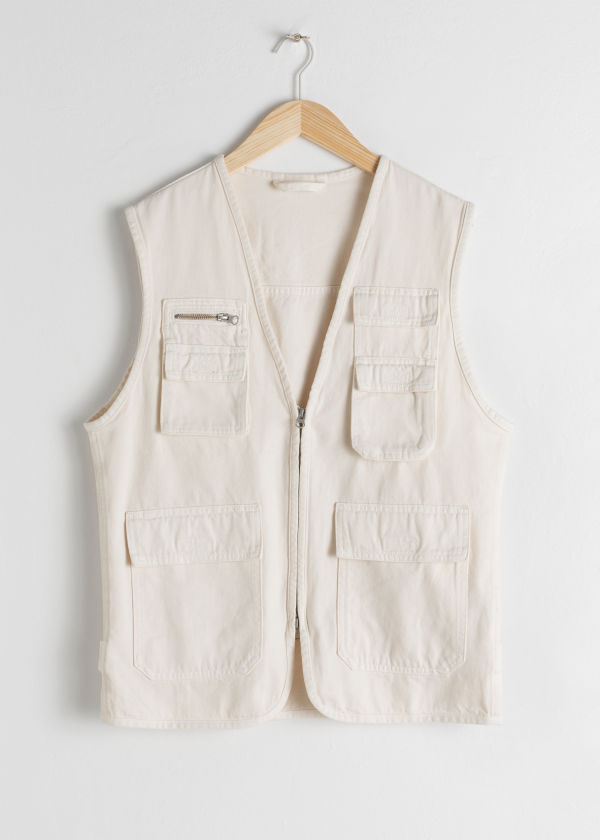 Denim Workwear Vest