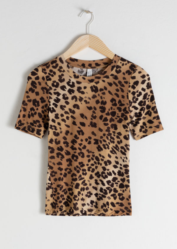 Fitted Leopard T-Shirt