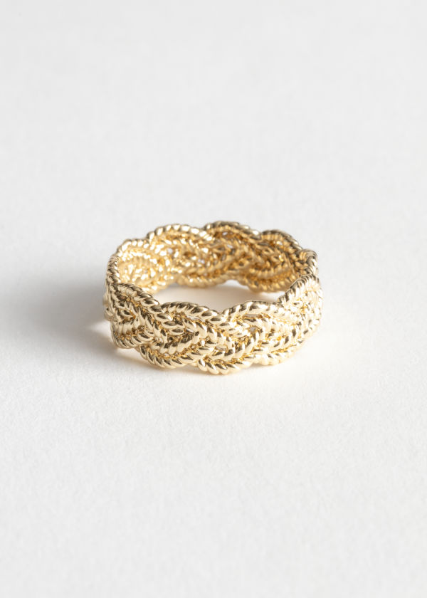 Braided Metallic Ring