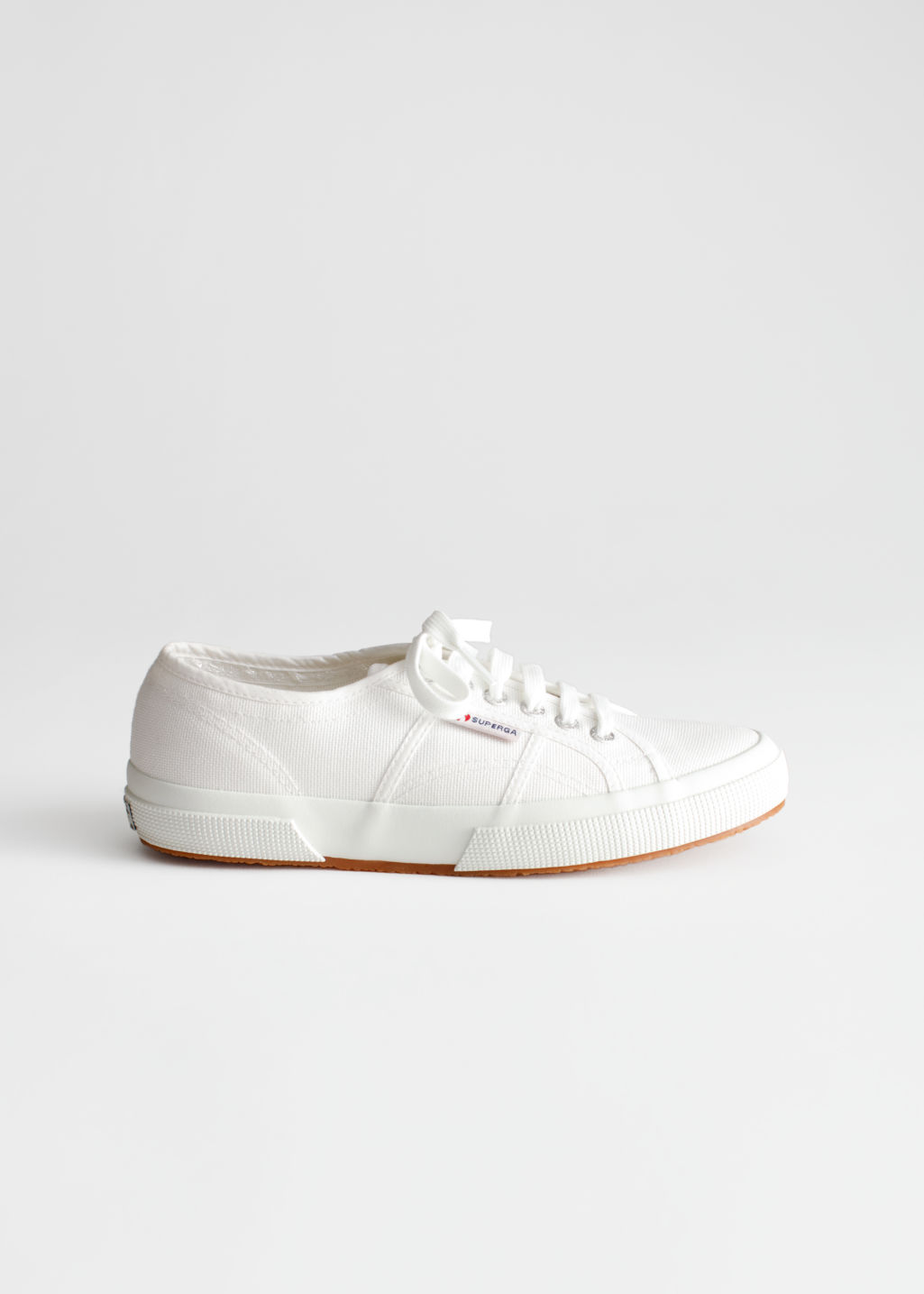 StillLife Front Image of Stories Superga Cotu Classic in White
