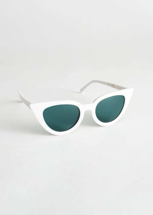 Angular Cat Eye Sunglasses