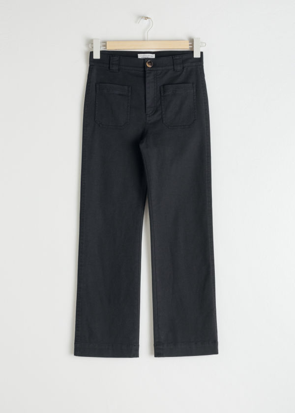 Cotton Twill Blend Trousers