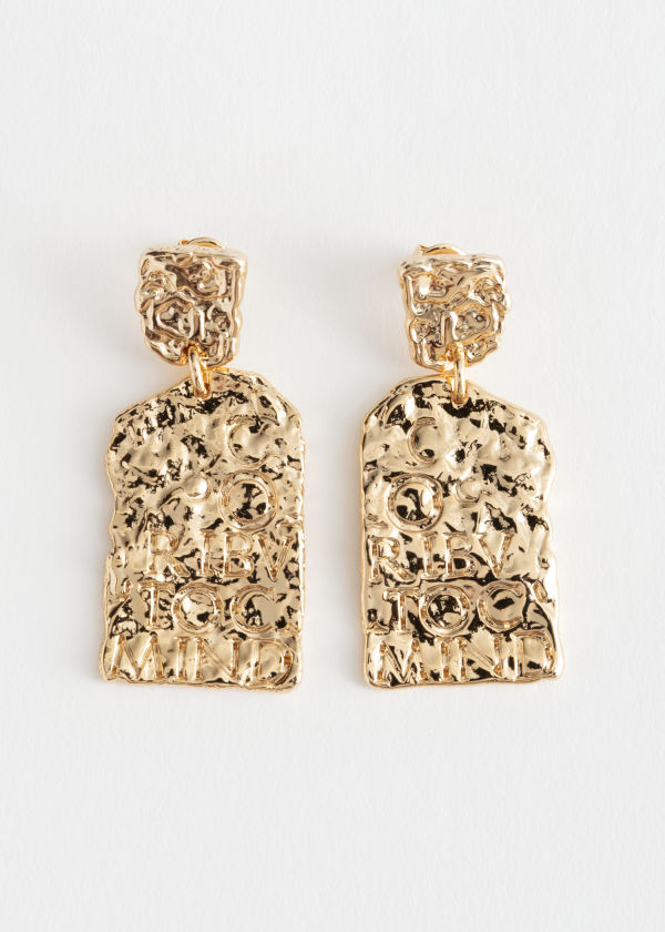 Ancient Pendant Earrings