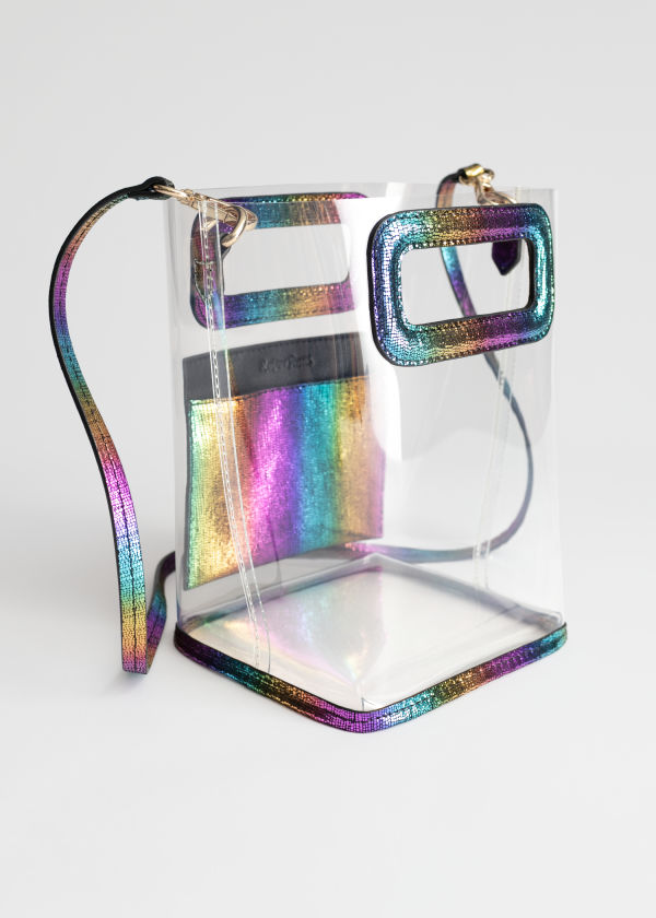 Clear Rainbow Tote