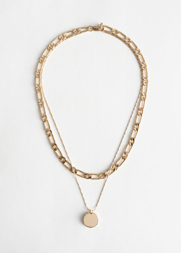 Pendant Mutli Chain Necklace
