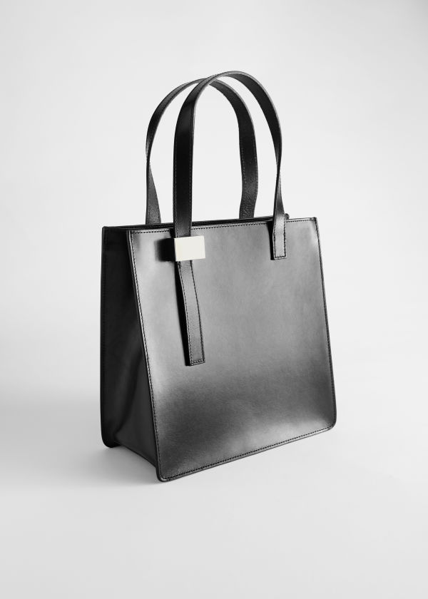 Chrome Free Tanned Leather Tote Bag