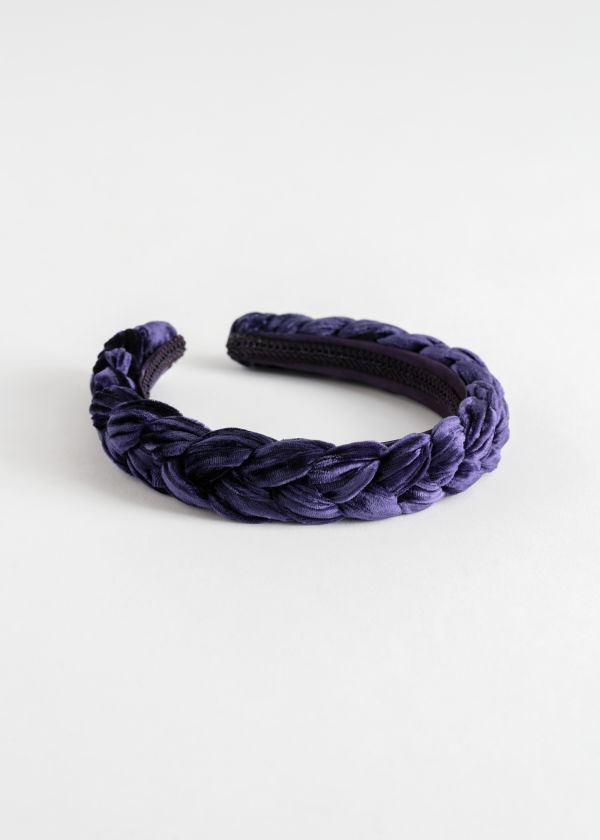 Braided Velvet Alice Headband