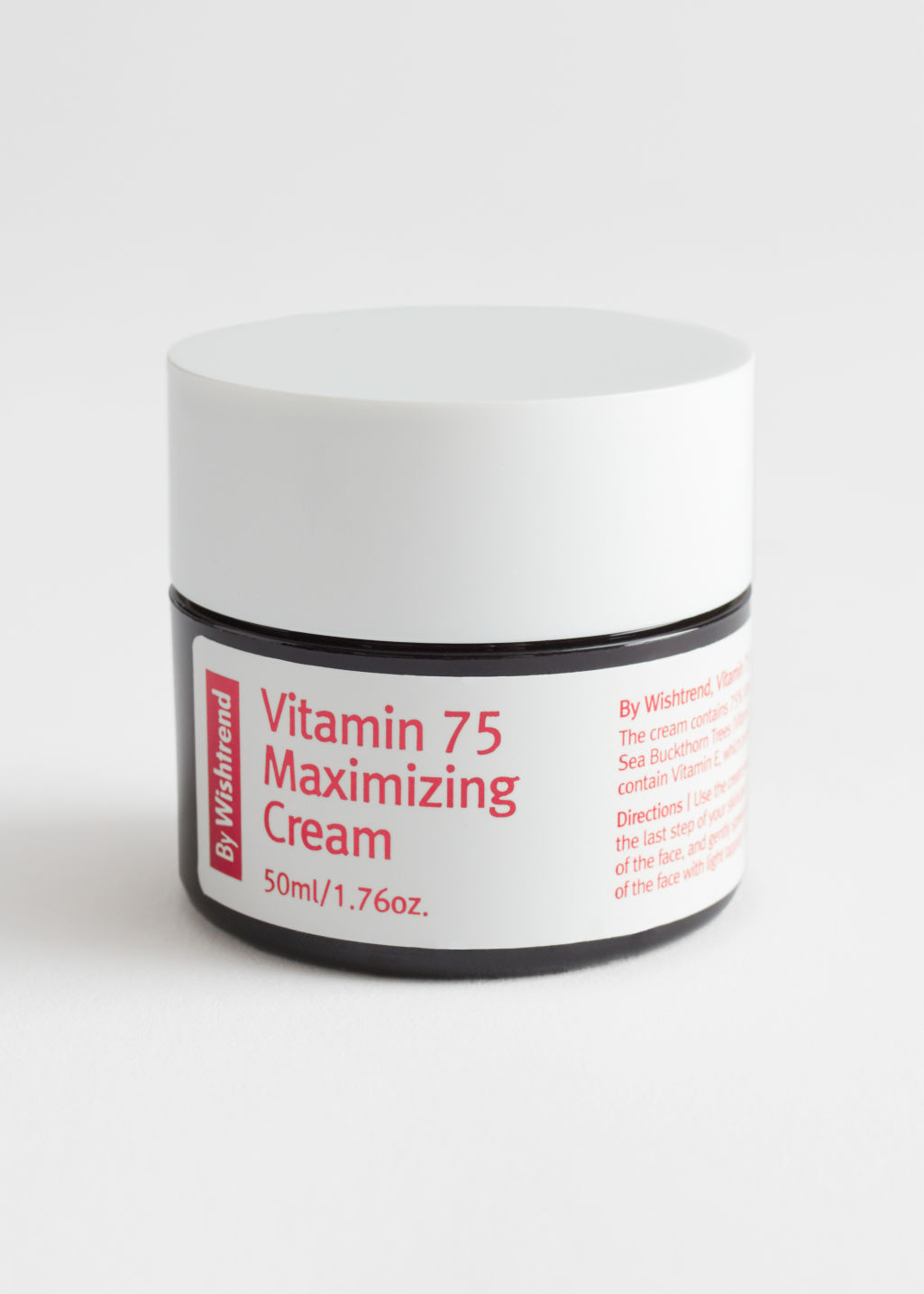 StillLife Front Image of Stories By Wishtrend Vitamin 75 Maximizing Cream in Black