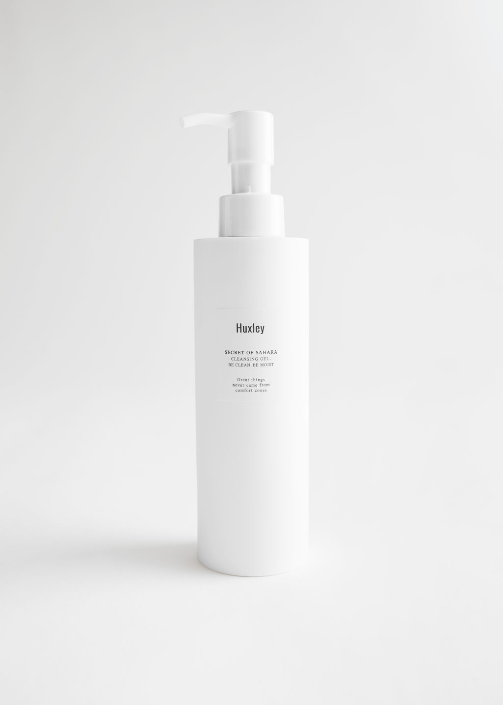 StillLife Front Image of Stories Huxley Cleansing Gel in White