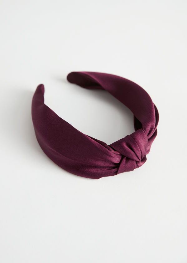 Satin Knot Alice Headband