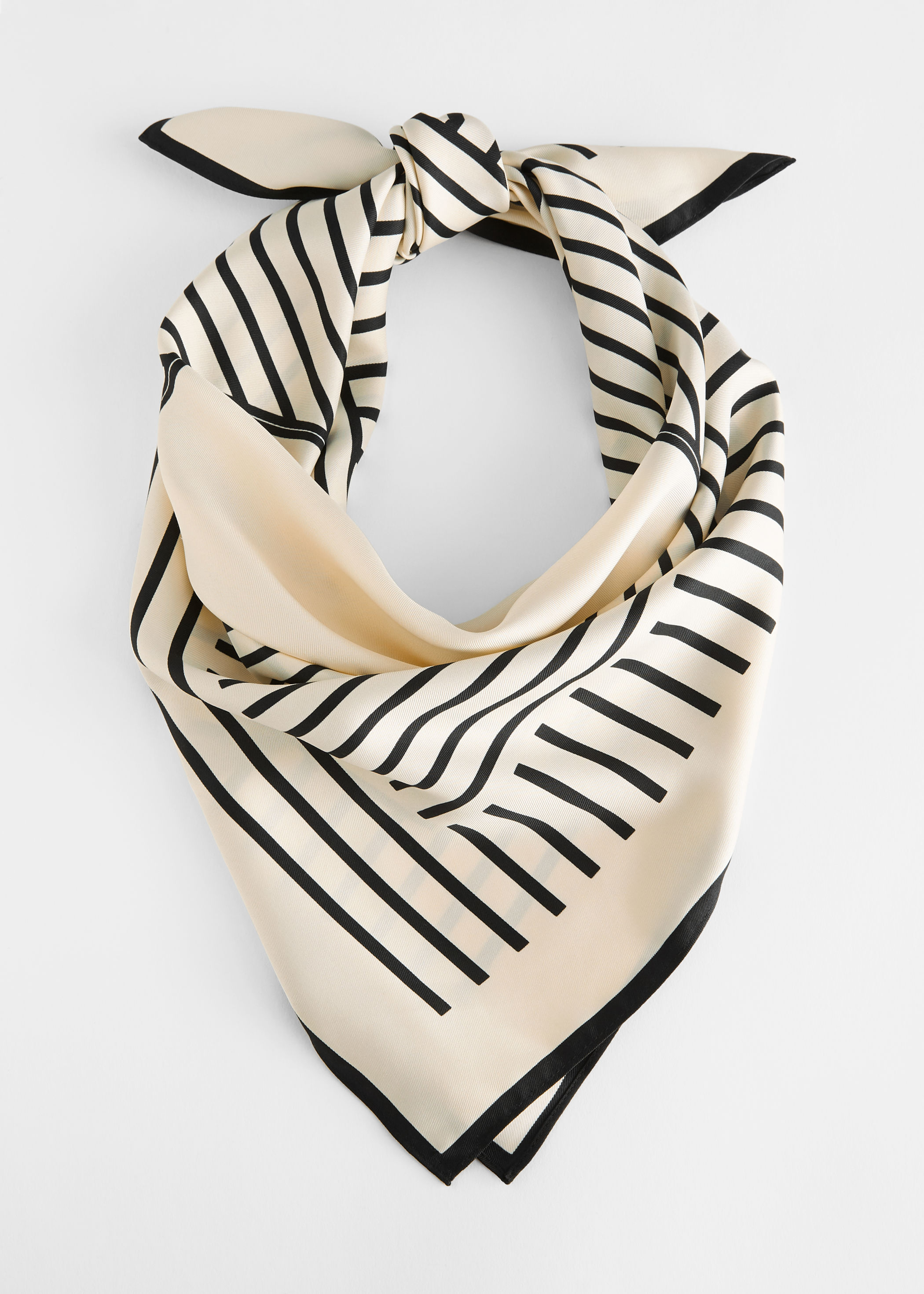 Striped Twill Scarf and other stories