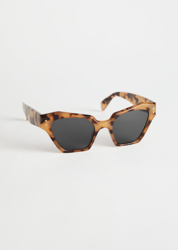 Geometric Tortoise Sunglasses