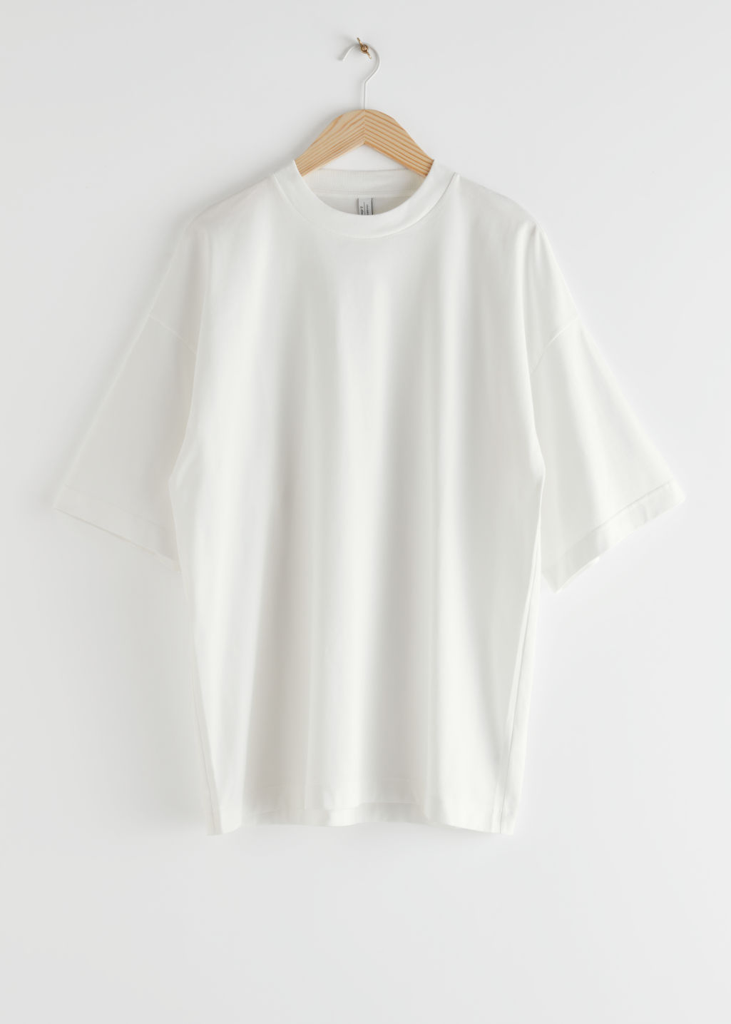 StillLife Front Image of Stories Boxy T-Shirt in White