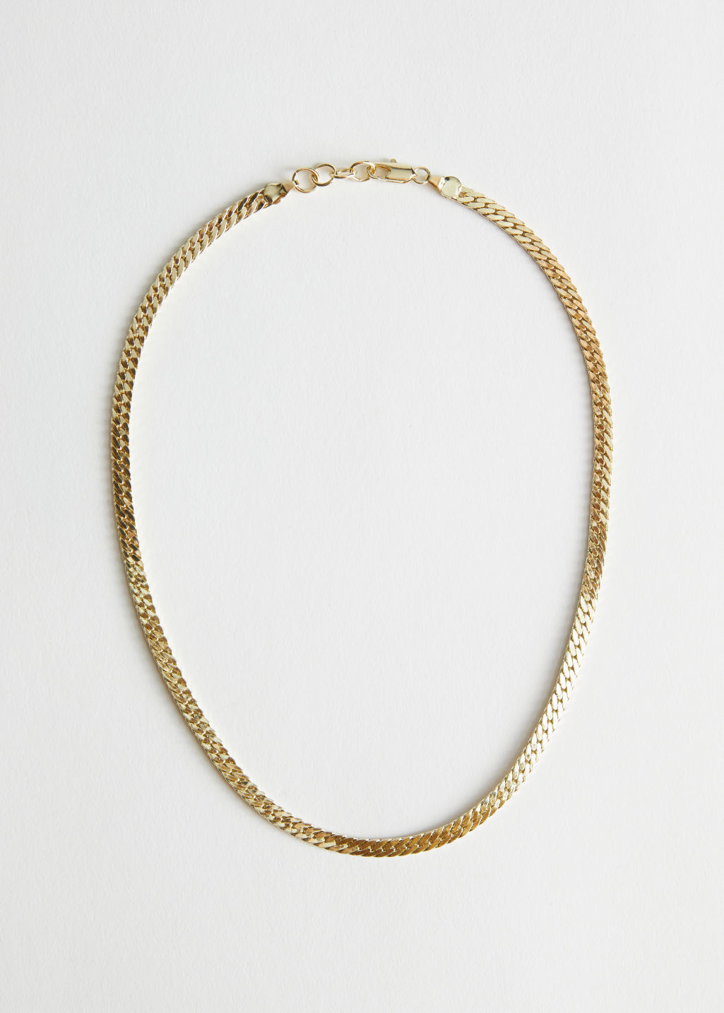 StillLife Front Image of Stories Simple Chain Necklace in Gold
