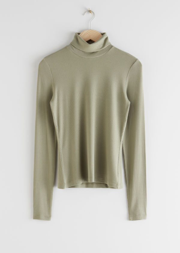 Double Layer Turtleneck