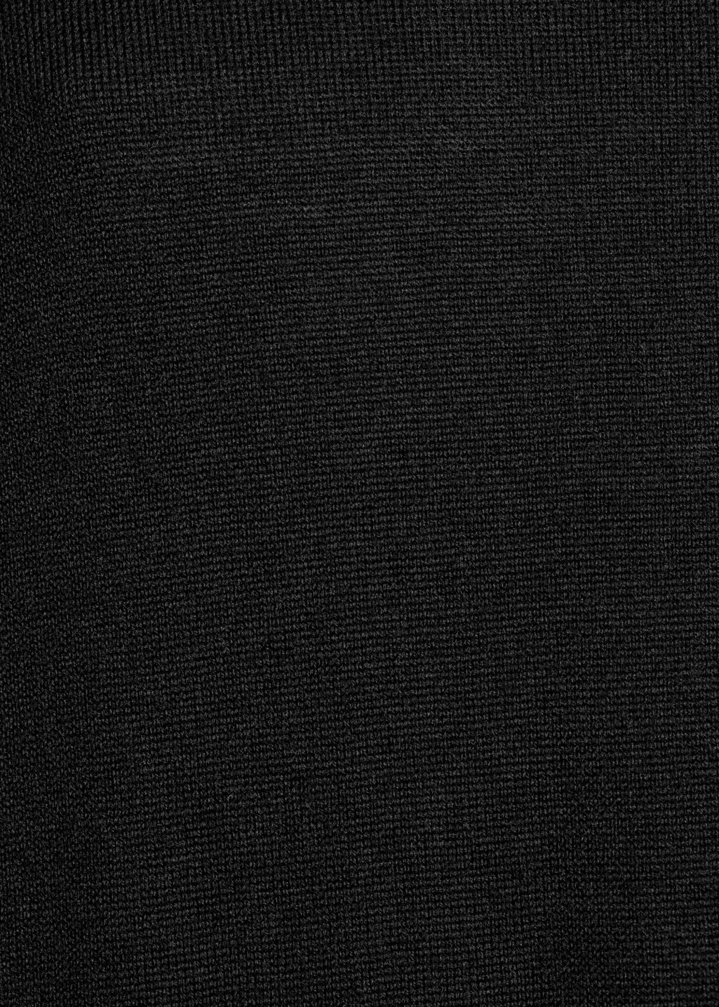 Detailed image of Stories turtleneck dress in black