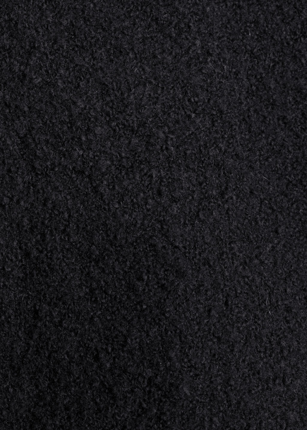 Detailed image of Stories high neck sweater in black
