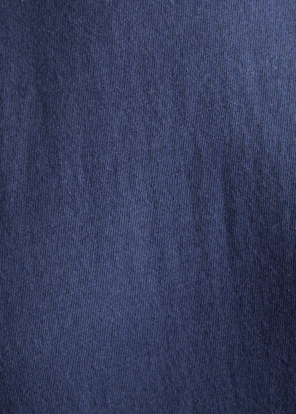 Detailed image of Stories rib neck dress in blue