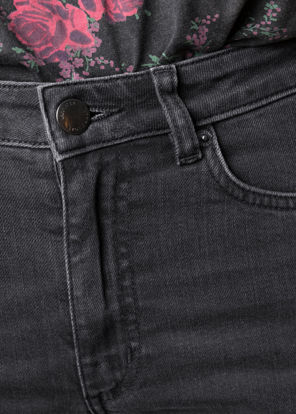 Detailed image of Stories denim jeans in grey