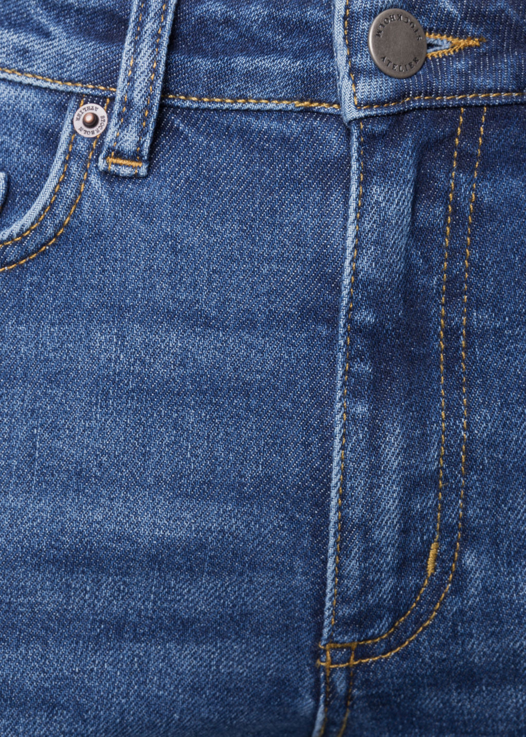 Detailed image of Stories denim jeans in blue