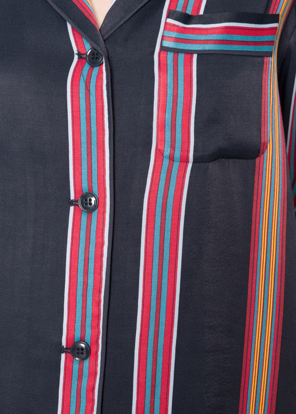 Detailed image of Stories stripe shirt in blue