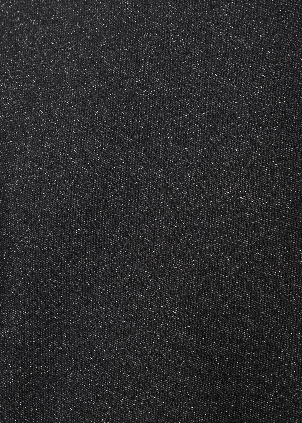 Detailed image of Stories mock neck dress in black