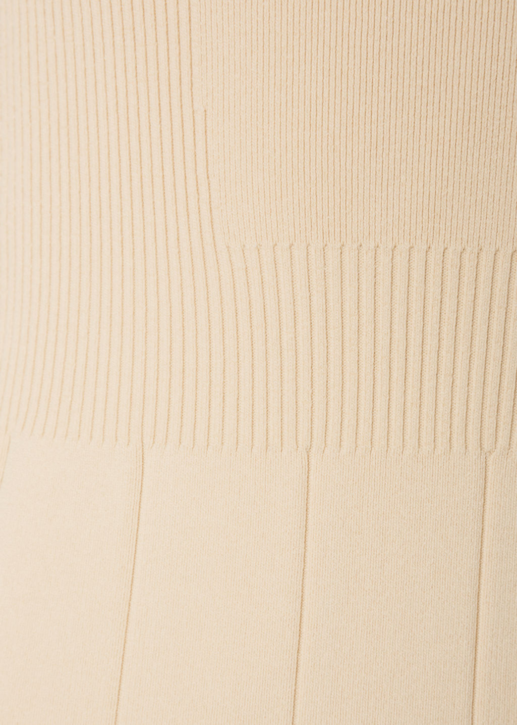 Detailed image of Stories knitted dress in beige
