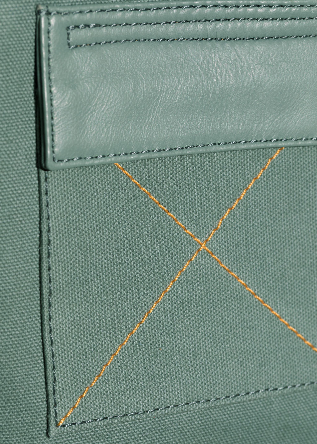 Detailed image of Stories utility body vest in green